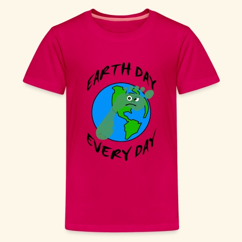 Earth Day Every Day - Teenager Premium T-Shirt