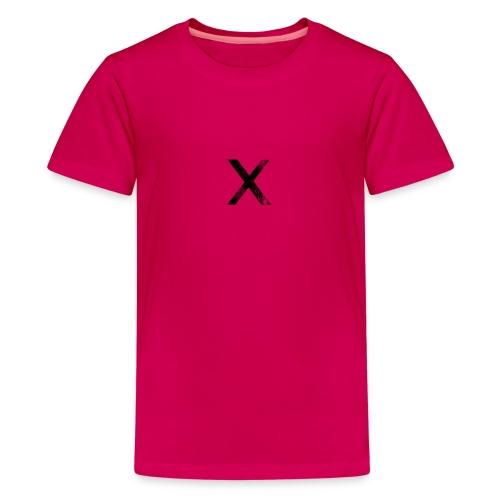 068663 black ink grunge stamp textures icon alphan - Teenage Premium T-Shirt