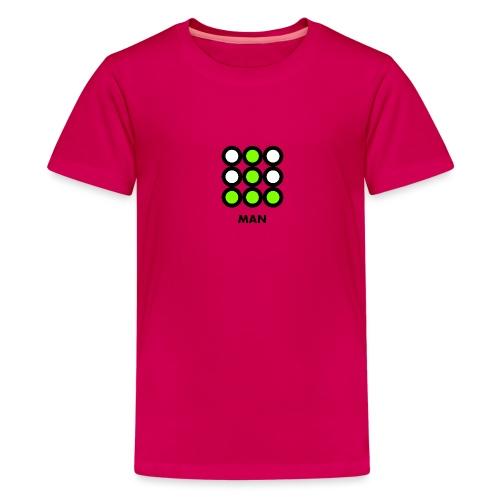 Man - Maglietta Premium per ragazzi