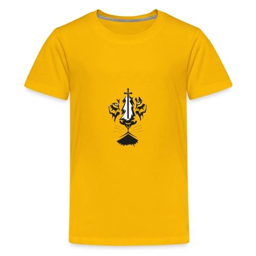 Lyon cruz - Camiseta premium adolescente