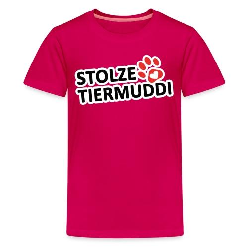 stolzetiermuddi png - Teenager Premium T-Shirt