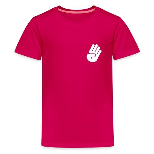 hand white - Teenager Premium T-Shirt