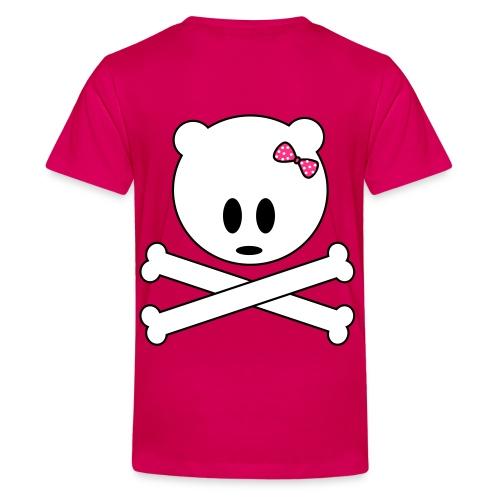 czaszka - Koszulka młodzieżowa Premium