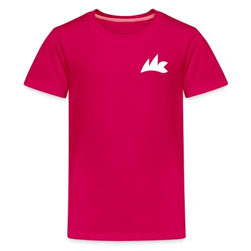 Logo_Micro_Class_vektor - Teenager Premium T-Shirt