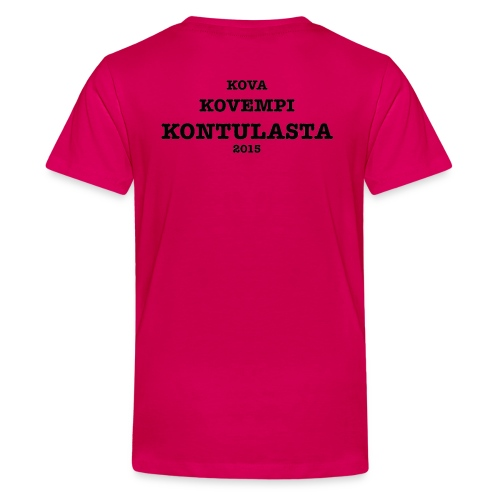 Kontula - Teenage Premium T-Shirt