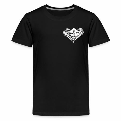 comet gym icon - Premium-T-shirt tonåring