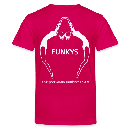 Funky Logo - Teenager Premium T-Shirt