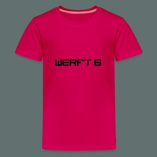 werft6 logo - Teenager Premium T-Shirt