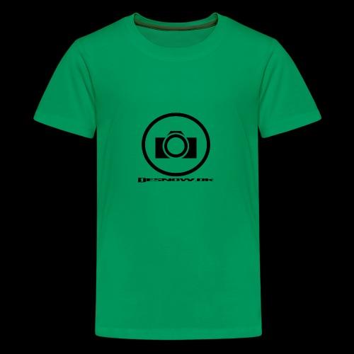 sort2 png - Teenager premium T-shirt