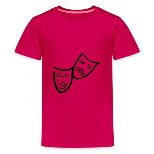 Theatermasken - Teenager Premium T-Shirt
