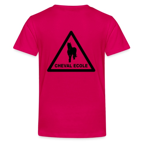 chevalecoletshirt - T-shirt Premium Ado