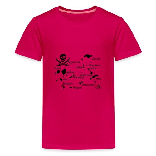 Crewshirt Motiv Griechenland - Teenager Premium T-Shirt