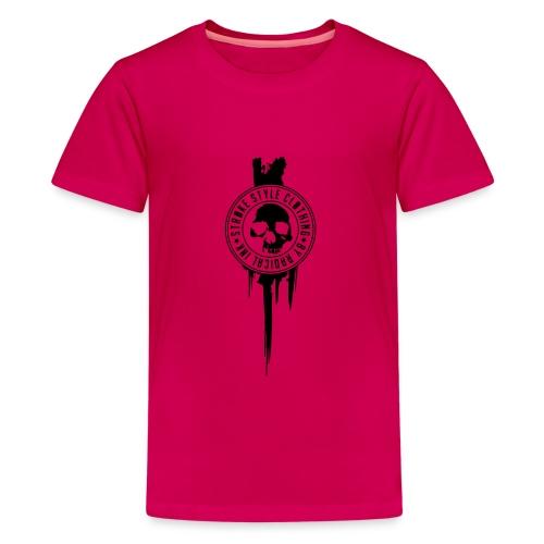 patch stroke pfade - Teenager Premium T-Shirt