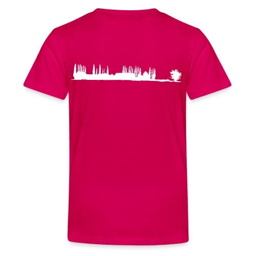 Silhouette de La Bretèche - T-shirt Premium Ado