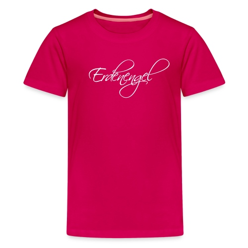 Erdenengel (Flügel am Rücken) - Teenager Premium T-Shirt