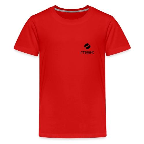 Logo_ohne_schrift_schwarz - Teenager Premium T-Shirt