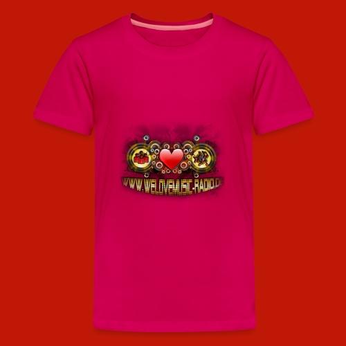 wlm-logo gross - Teenager Premium T-Shirt