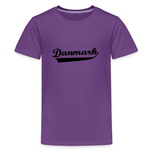 Danmark Swish - Teenager premium T-shirt
