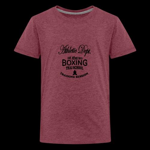 (high_school_couleur_uni) - T-shirt Premium Ado
