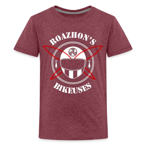 Roazhon's Bikeuses Rennes - T-shirt Premium Ado