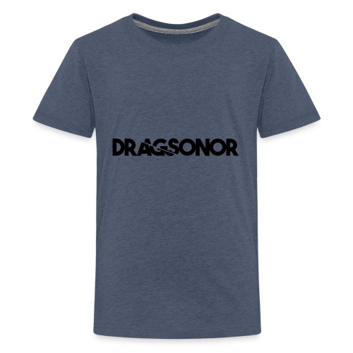 DRAGSONOR black - Teenage Premium T-Shirt