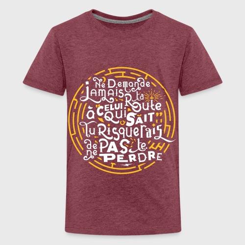 Aimer vivre et se perdre - T-shirt Premium Ado