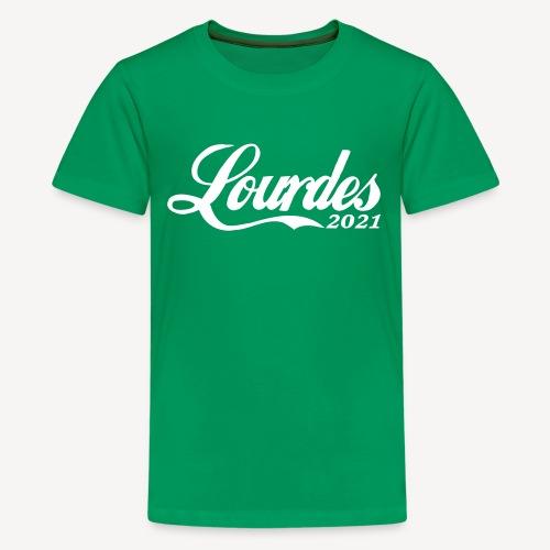 LOURDES 2021 - Teenage Premium T-Shirt