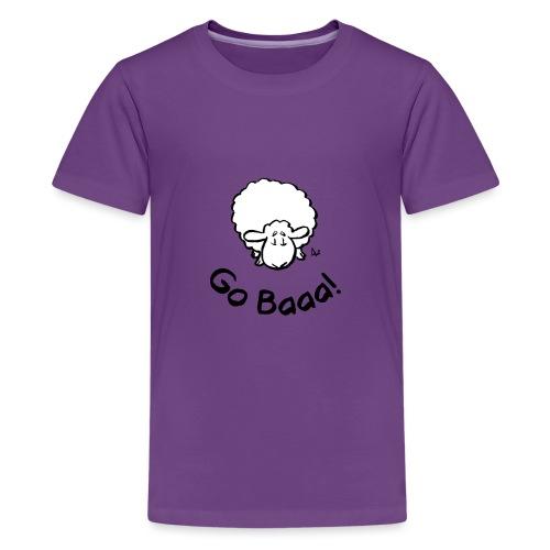 Sheep Go Baaa! - Teenage Premium T-Shirt