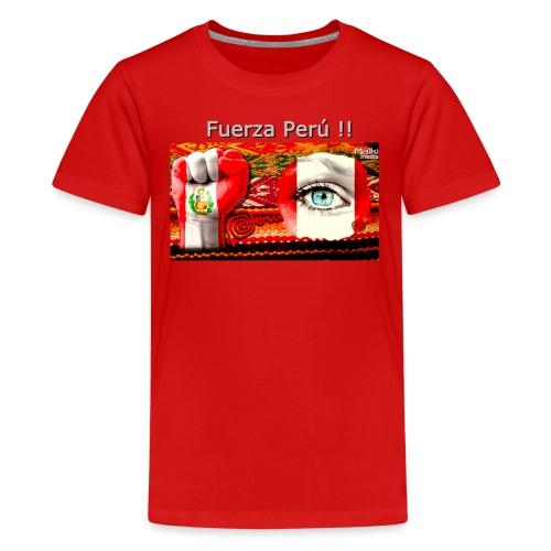 Telar Fuerza Peru I - Camiseta premium adolescente