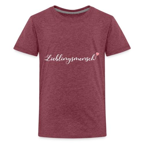 lieblingsmensch 01 - Teenager Premium T-Shirt