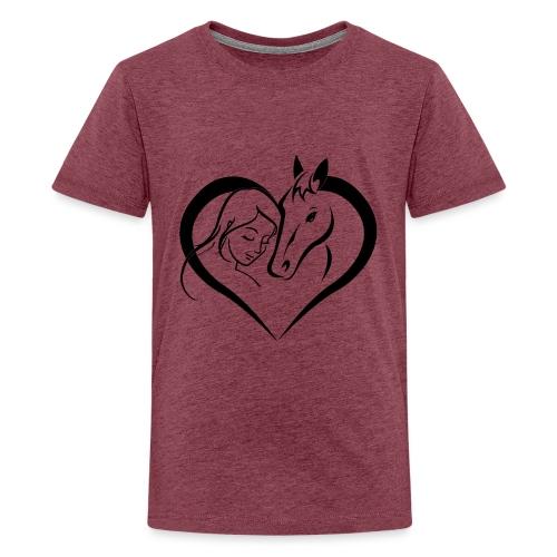 Pferdeliebe 2 - Teenager Premium T-Shirt