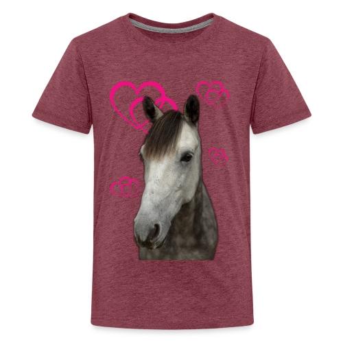 Hästälskare (Pilot) - Premium-T-shirt tonåring
