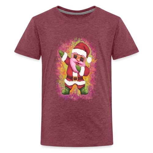 Dabbing Santa Claus Weihnachtsmann - Teenager Premium T-Shirt