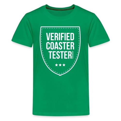 Badge CoasterTester vérifié - T-shirt Premium Ado