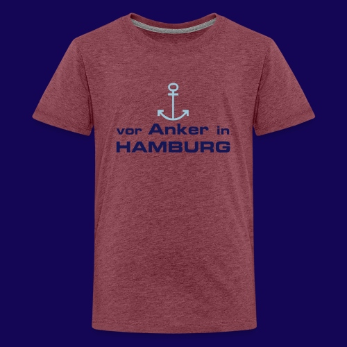 Vor Anker in Hamburg - Teenager Premium T-Shirt