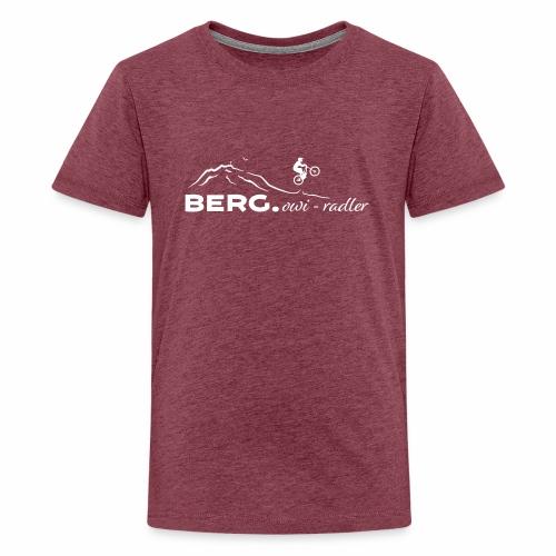 BERG.owi-radler - Teenager Premium T-Shirt