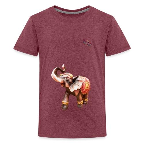 Elefant Junior Randy Design - Teenager Premium T-Shirt