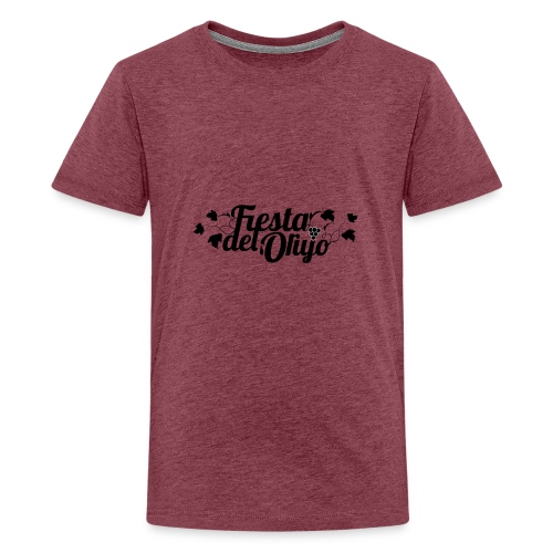 Fiesta del Orujo - Camiseta premium adolescente