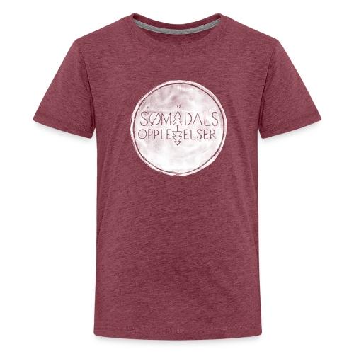 Sømådalsopplevelser - Premium T-skjorte for tenåringer