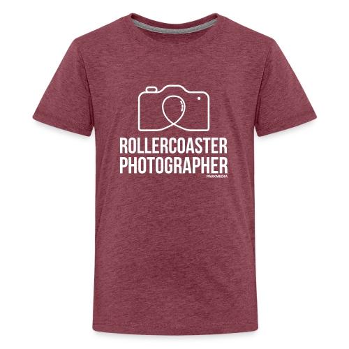 Photographe de montagnes russes - T-shirt Premium Ado