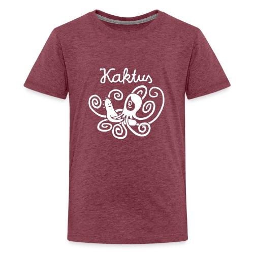 Kaktus und Kalamarie - Teenager Premium T-Shirt