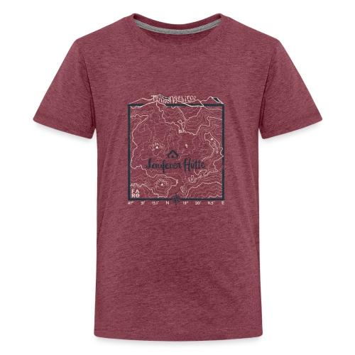 Laufener Hütte im Tennengebirge - Green - Teenage Premium T-Shirt