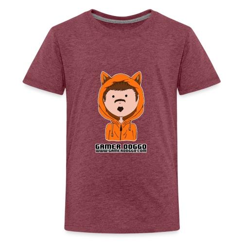 Gamer Doggo Merch - Teenage Premium T-Shirt