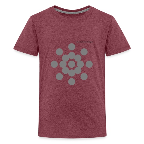 Aikido Ki Society Stuttgart Sun-Logo - Teenager Premium T-Shirt
