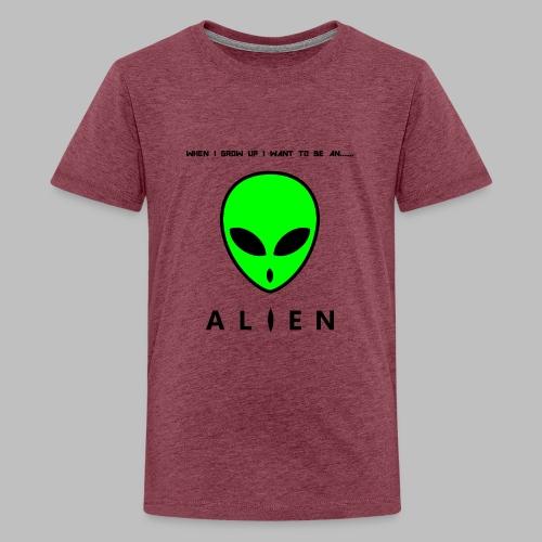 Alien - Teenage Premium T-Shirt