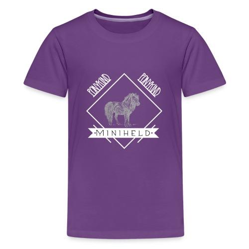 Pony Miniheld - Teenager Premium T-Shirt