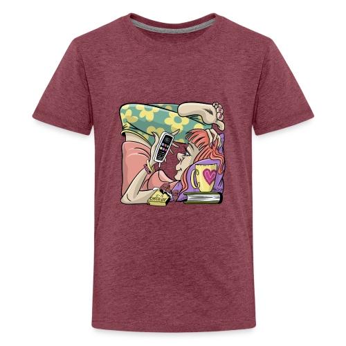 Student Girl Box Housing. T-shirts, Hoodies, Gifts - Teinien premium t-paita