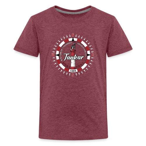 TANKAR MAJAKKA - Kompassi tekstiilit ja lahjat - Teinien premium t-paita