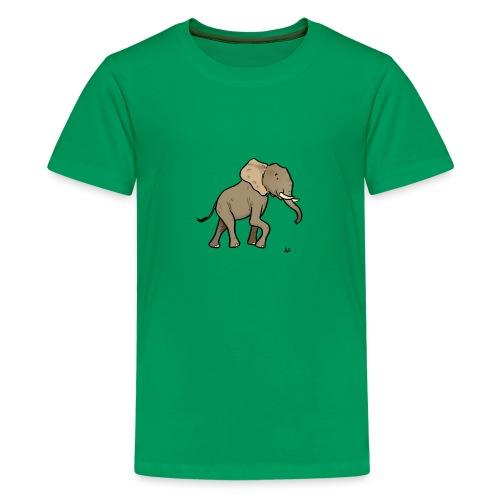 African elephant - Teenage Premium T-Shirt