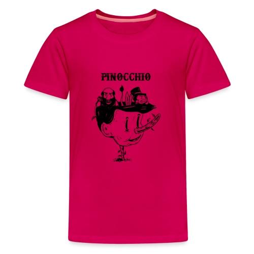 pinocchio - Teenage Premium T-Shirt
